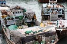 کشف هفت میلیارد کالای قاچاق در مرزهای آبی هرمزگان