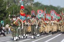 نیروهای مسلح اقتدار خود را در اهواز به نمایش گذاشتند