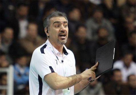 سیدعباسی: استرس به بازیکنانم اجازه نداد برتری خود را حفظ کنند