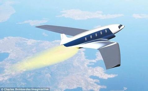پرواز ۱۱ دقیقه ای از نیویورک به لندن با سریعترین جت جهان