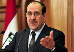 اعتراض مالکی به حمایت های سیاسی از داعش