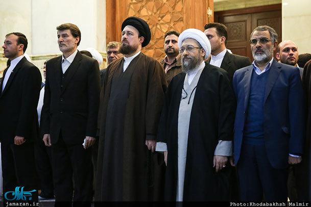 فیلم / تجدید میثاق رئیس و مسئولان عالی قوه قضاییه با آرمان های امام خمینی(س)