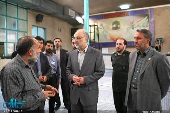 حضور وزیر و معاونین وزارت امور خارجه در حسینیه جماران