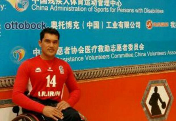 بسکتبالیست معلول گلستان به مسابقات جهانی می رود