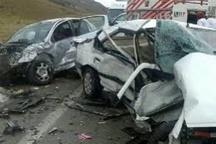 میانگین تصادفات مازندران 47 درصد کمتر از میانگین کشوری است