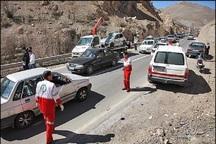 تصادفات جاده ای خراسان شمالی 6 مصدوم داشت