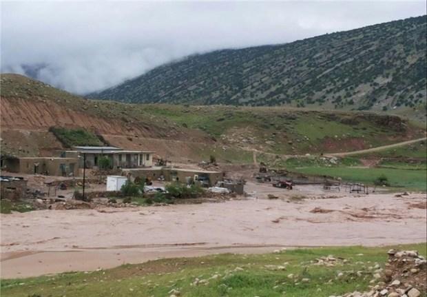 760 واحد مسکونی در کردستان بر اثر بارش باران خسارت دید