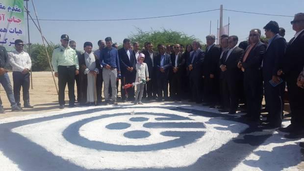 افتتاح و اجرای 2 طرح عمرانی و درمانی درجنوب بوشهربا حضور وزیر تعاون