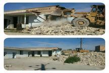 قدیمی ترین مدرسه گتوند تخریب شد