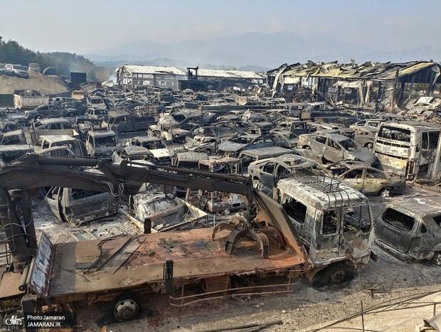 عکس/ اعلام وضعیت اضطراری در کره جنوبی پس از 12 سال