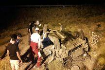 واژگونی خودرو در نیشابور سه کشته داشت