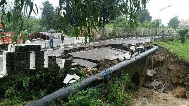 بارندگی به شهرستان قائمشهر 80 میلیارد تومان خسارت زد