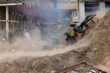 خط مقدم نبرد با داعش+ تصاویر