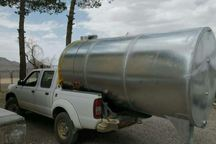 مخزن پنج هزار لیتری آب به منطقه حفاظت شده قمیشلو اهدا شد
