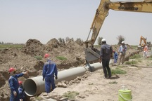 روستای جابجا شده پالتلوی زنجان از آب شرب برخوردار می شود