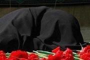 پیکر مادر خبرنگار شهید حسین ضامن در زاهدان تشییع شد