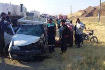 ۹ نفر در سانحه رانندگی جاده بوکان - میاندوآب مصدوم شدند