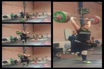 گرگان میزبان نوجوان و جوانان تیم ملی وزنه برداری