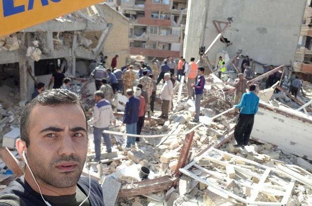 خبر در شوک زلزله