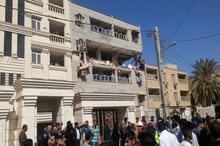 انفجار یک ساختمان مسکونی در اهواز+عکس ها