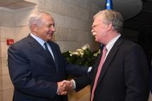 گفت و گو بولتون و نتانیاهو در مورد ایران