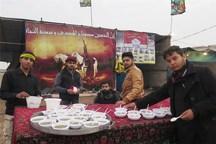 19موکب اربعین حسینی برای کمک به سیل زدگان خوزستان برپا شد