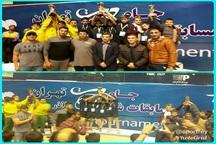 تیم شهرری  قهرمان مسابقات شنای زیر 10 سال کشور شد