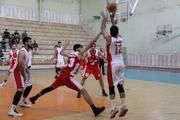 امتیاز تیم بسکتبال پدافند رعد دزفول به شهرکرد داده شد