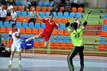 مشهد قهرمان مسابقات هندبال منطقه یک کشور شد