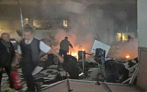 انفجار و تیراندازی در فرودگاه استانبول: 36 کشته و 140 زخمی/ لغو پروازها