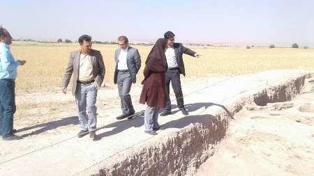 سفر مدیر پایگاه های جهانی میراث فرهنگی کشور به جندی شاپور دزفول