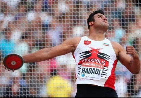 حدادی در مسابقات دوومیدانی لهستان چهارم شد