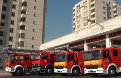 تمهیدات آتش نشانی در مراسم ارتحال امام خمینی(س)