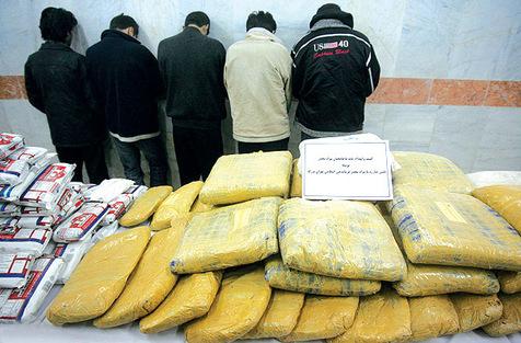 ۱۲۸۰ کیلوگرم مواد مخدر در سراوان کشف شد