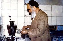 خاطره ای از صرفه جویی امام در مصرف آب