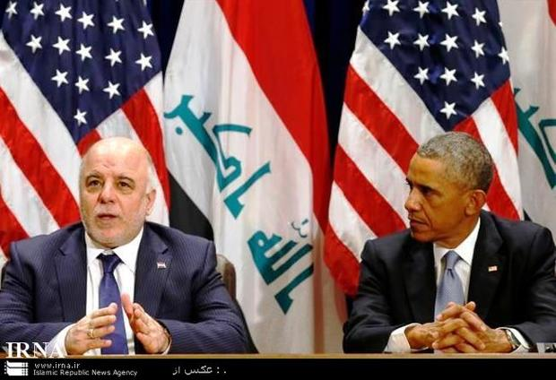 دیدار اوباما و حیدر العبادی