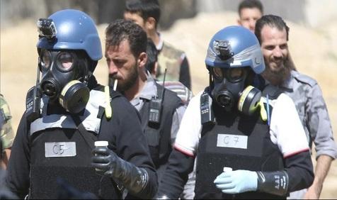 جنگ شیمیایی داعش