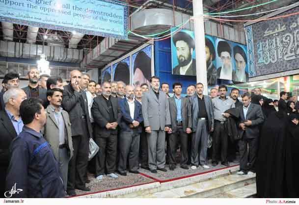 ادای احترام نمایندگان جامعه کارگری استان تهران به امام راحل