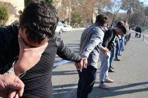 ۱۴ اخلالگر در مشهد دستگیر شدند
