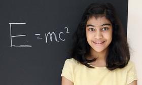دختری که از اینشتین هم باهوشتر است!