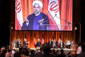 سخنان روحانی در دیدار با ایرانیان مقیم آمریکا