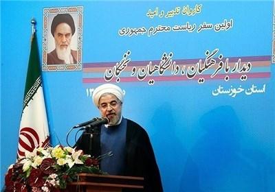 روحانی: با سدی مواجه شوم به مردم خواهم گفت/ به تمامی وعده ها پایبندیم