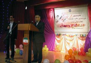 جشن پیروزی انقلاب در باکو برگزارشد
