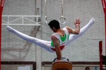 ژیمناست گلستانی برای المپیکی شدن مسابقه می دهد