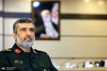 فرمانده هوافضای سپاه: ادعای نفوذ آمریکاییها در سیستم موشکی ایران دروغ است