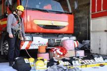 آتش نشانی اراک به تجهیزات جدید نجات در ارتفاع مجهز شد