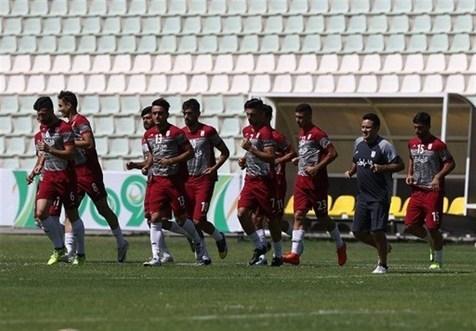 ریکاوری تیم ملی امید بعد از بازی با پارس جنوبی