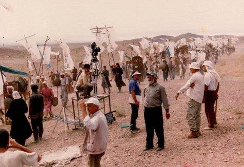 پشت صحنه سریال «تنهاترین سردار»؛ ۲۲ سال پیش+عکس