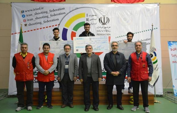 تیرانداز سمنانی قهرمان رقابت های آزاد سلاح بادی مردان شد
