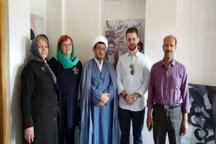 گردشگران اتریشی از بیت تاریخی امام راحل در خمین بازدید کردند